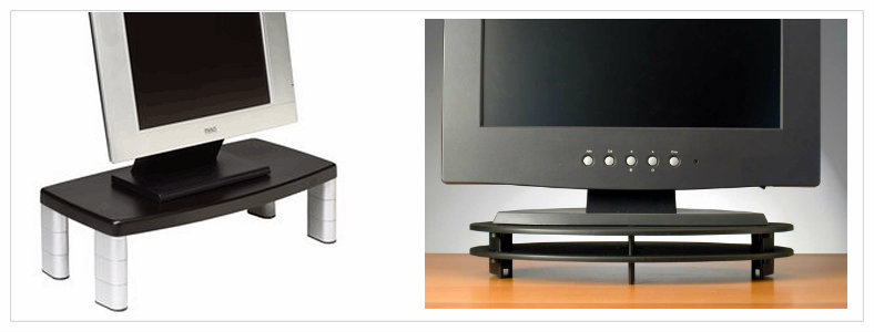 monitor risers