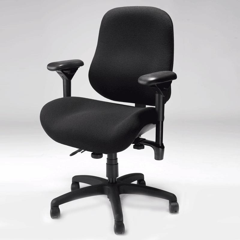 Ergogenesis Chair ergonomic big & tall task chair | plus size |bodybilt j2504