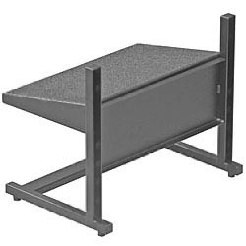 ErgoCentric Small Industrial Adjustable Footrest, FOOTREST-SM