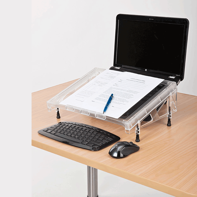 Microdesk Clear Acrylic Document Writing Platform, MD-COM