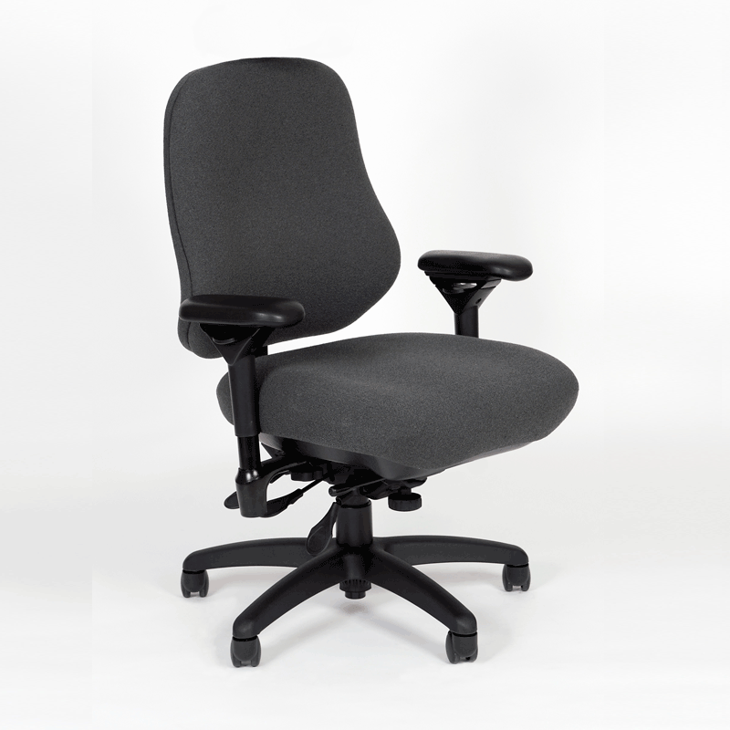 BodyBilt J2509 Series Stretch Office Chair : big and tall task chairs - Cheerinfomania.Com