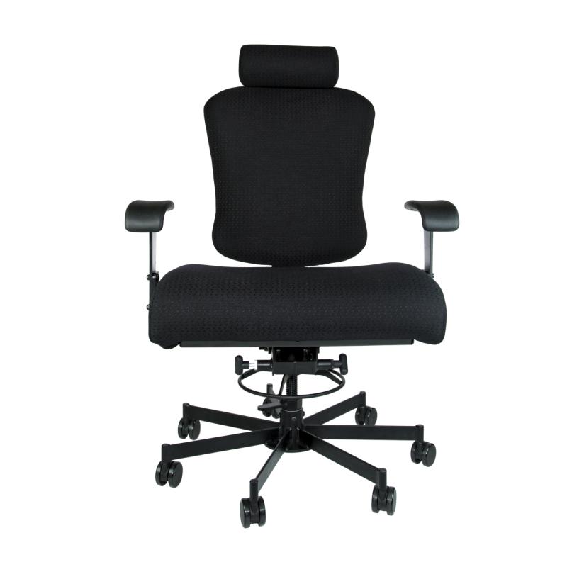 Ergonomic Bariatric Big Tall Task Chair 24 Hour Use 3165HRABAR