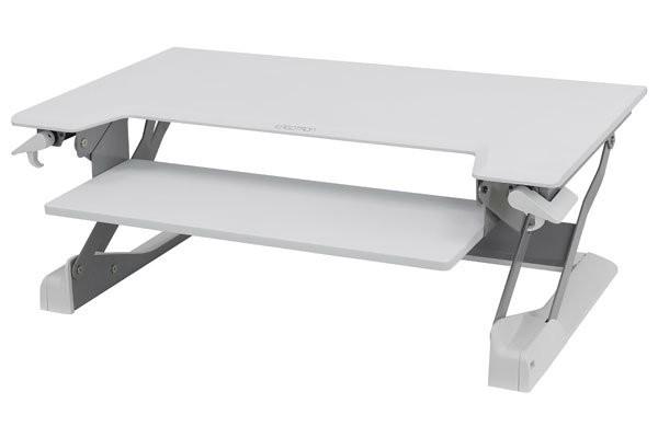 Ergotron WorkFit TL Sit-Stand Workstation, White