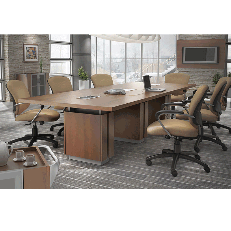 Global Zira Conference Table With Legs - Global conference table
