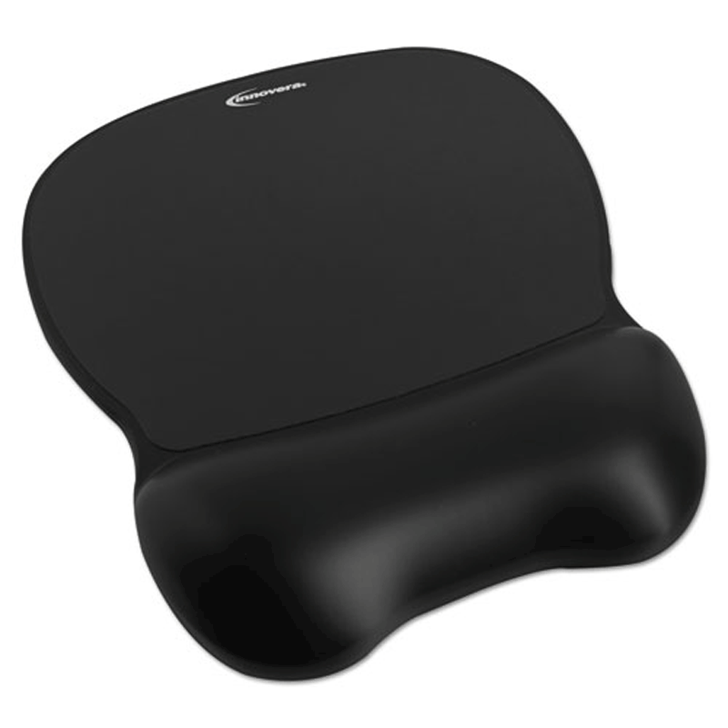 Softskin Gel Mouse Wrist Rest With Mouse Pad Ivr51450