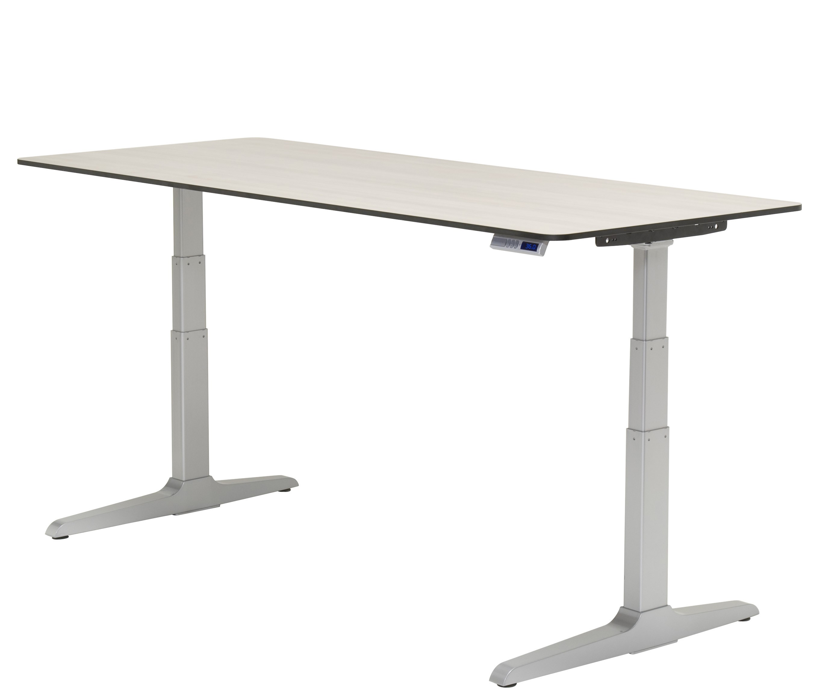table sit legs adjustable stand desk one firgelli lift products electric leg e column